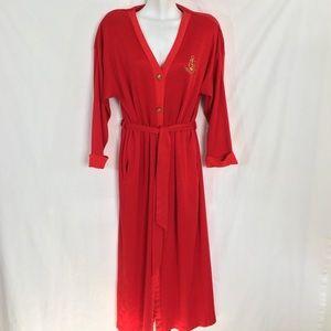 Vintage Christian Dior Loungewear Hostess Robe